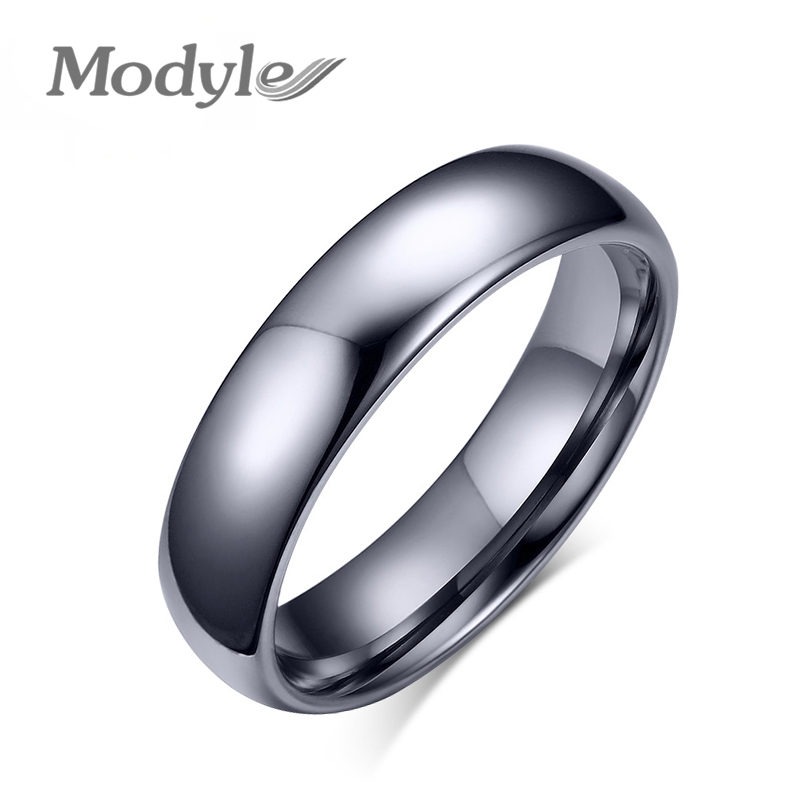 Modyle Promotion Pure Tungsten Carbide Rings for Women Men Wedding Jewelry Top Quality(China)