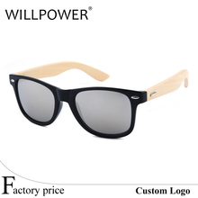 Bulk buy from China high quality custom logo bamboo sunglasses lots wholesale