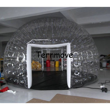 Inflatable Bubble Camping Tent Inflatable outdoor projection dome rest room,customized transparent Inflatable Tents For Events(China)