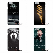 For iPhone 4 4S 5 5S 5C SE 6 6S 7 Plus Galaxy Grand Core Prime Alpha Silicone Mobile Phone Case 007 Skyfall Spectre james bond