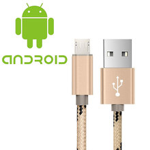 Buy USB Data Charger Cable Nylon Braided Wire Metal Plug USB Cable Samsung Xiaomi Fast Charge USB Data Cable 1m Android Mobile for $1.18 in AliExpress store