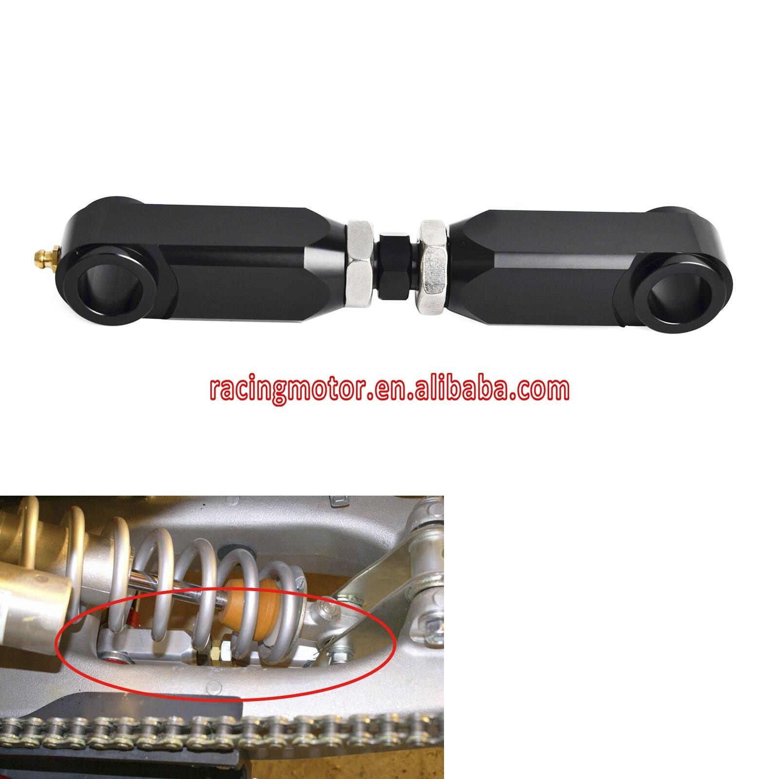 Adjustable Rear Lowering Kit Arm Relay Connecting Rod For Yamaha Raptor 350 660 600R 700 YFM350 04-13 YFM660R 01-05 YFM700 06-17<br>