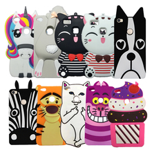3D Cute Cartoon Kitten Rabbit Pocket Cat Unicorn Case for Huawei Ascend P8 Lite 2017 Honor 8 Lite Nova Lite Soft Silicone Cover