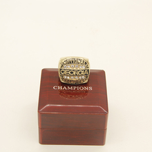 US SIZE 11! 1980 Georgia bulldogs championship replica solid ring DROP SHIPPING(China)