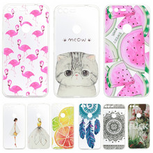 Phone Case sFor Google Pixel XL Soft Silicon TPU Transparent Ultra Thin Cover Cute Cat Flamingo Fruit Cases for Google Pixel(China)