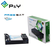 1080p Full HD Freesat V7 Max Receptor DVB-S2 Satellite TV Receiver PowerVu Biss Key Support Cccam With usb wifi Set Top Box(China)