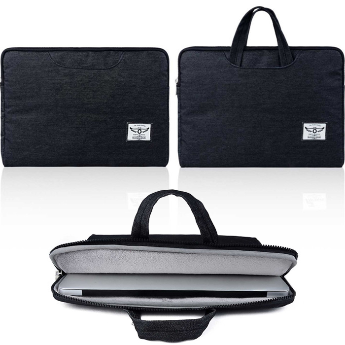 business style black gray Laptop handbag Case for macbook air 11 12 13 Bag for 11inch 12inch 13inch macbook<br><br>Aliexpress