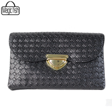Famous Brands Knitting Women Clutches Casual Female Tote Women Bags Versatile Women Messenger Bags Mini Cross Body Bags C0896/l