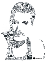 Comics Freddie Mercury Music Classic Decorative Vintage Retro Poster DIY Wall Stickers Home Posters Bar Art Decor