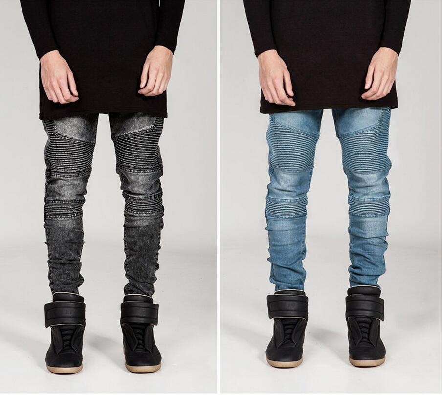 Famous Brand Men Jeans Skinny Plus Size Disel Design Slim Straight Jean Male Ripped Denim Pants Fake Designer ClothesОдежда и ак�е��уары<br><br><br>Aliexpress