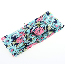 Women's Flower Hair Band Turban Head Wrap Headband Twisted Knotted Fashion Head Wrap PY3 L4 B3