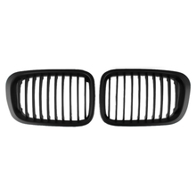 Matte Black Grille Kidney Grill for BMW E46 3 Series 4 Door 98-01