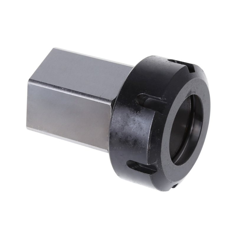 Steel Hex ER40 Collet Block Spring Chuck Holder 3900-5129 For Lathe Engraving Machine<br>
