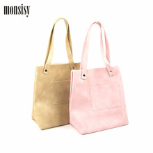 Monsisy PU leather Shoulder Bag For Girl Fashion Children Handbag Kawaii Cute Travel/Shopping Bag Kids Tote Bag Gift(China)