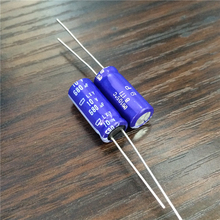 10pcs 680uF 10V NIPPON NCC LXY Series 8x20mm Low Impedance Long Life 10V680uF Aluminum Electrolytic Capacitor