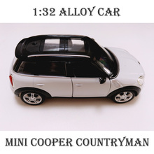 2017 New Style Colletible Alloy Toy Cars For Boys Children Gift 2 Colors Mini Cooper Countryman Scale Models Brinquedos Juguetes