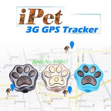 3G GPS Tracker RF-V40 Smart Cats dogs Tracking Device For Pets 3G WCDMA Network Voice monitor Waterproof Anti-lost WiFi Global