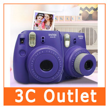 Fujifilm Instax Mini 8 Camera , Instant Film Camera (Purple)