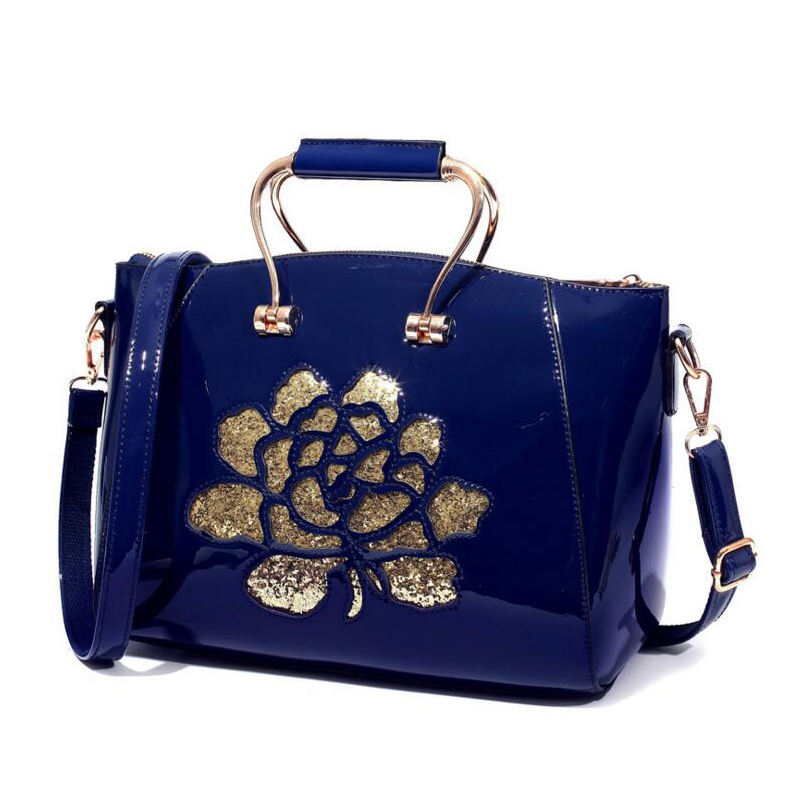 2017 Fashion Women Flower Bags High Quality PU Leather Ladies Tote Bag Female Handbag Women CrossBody Shoulde Bag Bolsa Feminina<br><br>Aliexpress
