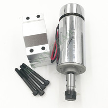 52mm cnc spindle 300w ER11 chuck DC 12-48v 300W Spindle motor cnc for Engraving Machine + clamp ER11 3.175MM for PCB Engraving(China)