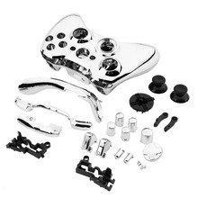Full Case Cover Protect Shell Skin Button Set For Xbox 360 Wireless Controller Wholesale(China)