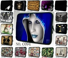 Soft Laptop Sleeve Case Bag For 9,10,11,12,13,14,15,17 inch Computer Bag, Notebook,For ipad,Tablet, For MacBook,Free Shipping(China)