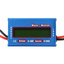 1pc 100A 60V DC RC Helicopter Airplane Battery Power Analyzer Watt Meter Balancer Wholesale Store