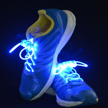 Event Party Supplies Skating Charming Led Flash Shoe Laces Light Up Glow Shoelaces Shoestrings Free Shiping 10pcs/lot