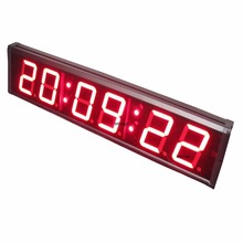 4inch Large Stopwatch LED Countdown Clock Countdown Count Up in 99 Minutes 59 Seconds 99 Hundredths of a Second(China)