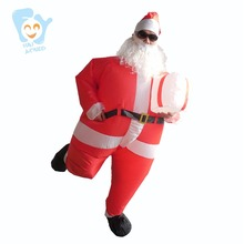 Inflatable Santa Costume Christmas Stitch Costumes For Adults Party Cosplay Costume Adult Fancy Dress
