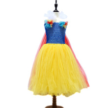 Snow White Baby Communion Dresses Baby Tutu Dress For Baby Girls Wedding Party Vestidos Toddler First Birthday Clothing 2017 NEW