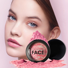 Charming Cheek Color Make Up Face Blush  Baked Blush Makeup Cosmetic Natural Baked Blusher Powder Palette