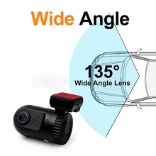 Dash Car dvr Camera MOV USB2.0 Gsensor Cycle Motion detection Dashcam Mini 0801 Full HD 1080P Ambarella A2 Chip With GPS Bracket