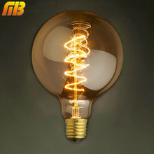 [MingBen] Vintage Edison Bulbs G95RS 220V E27 Incandescent Bulbs 40W Filament Retro Edison Light For Pendant Lamp Decoration(China)