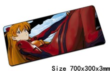 Neon Genesis Evangelion mousepad best 70x30cm gaming mouse pad gamer mouse mat eva pad keyboard padmouse laptop play mats