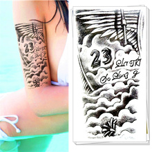 M-theory Forever 23 Temporary Tatoos Body Art Flash Tattoos Stickers 12*20cm Henna Wall Sticker Swimsuit Dress Makeup(China)