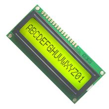 5PCS/Lot 161 16X1 1601 Character LCD Module Display Screen LCM with Yellow Green Backlight(China)