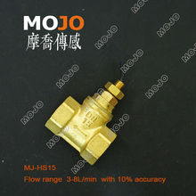 manufacture price!!(10pcs/lot)MJ-HS15 G1/2 copper material piston type with 3-8L/min for hydraulic engineer Flow Switch