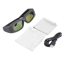 Newest Bluetooth 3D Active Shutter Glasses for 3D TV HDTV Blue-ray Player Dropshipping(China)