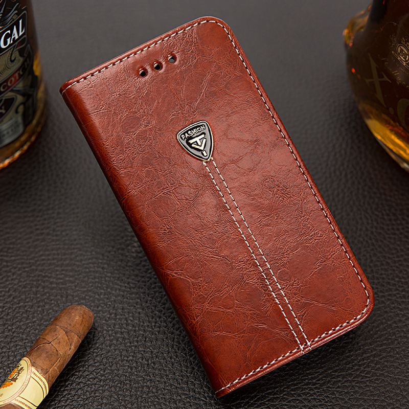 Luxury Leather Flip Wallet font b Case b font for font b Samsung b font Galaxy