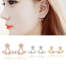 After the star high-end jewelry lovely ladies imitation diamonds Earrings free shipping