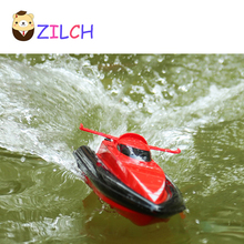2017 40CM Range 60M Speed 15KM/H 2.4G Radio Remote Control Cruise Model RC Racing Speedboats Water Boat Electric Motorboat 4CH(China)