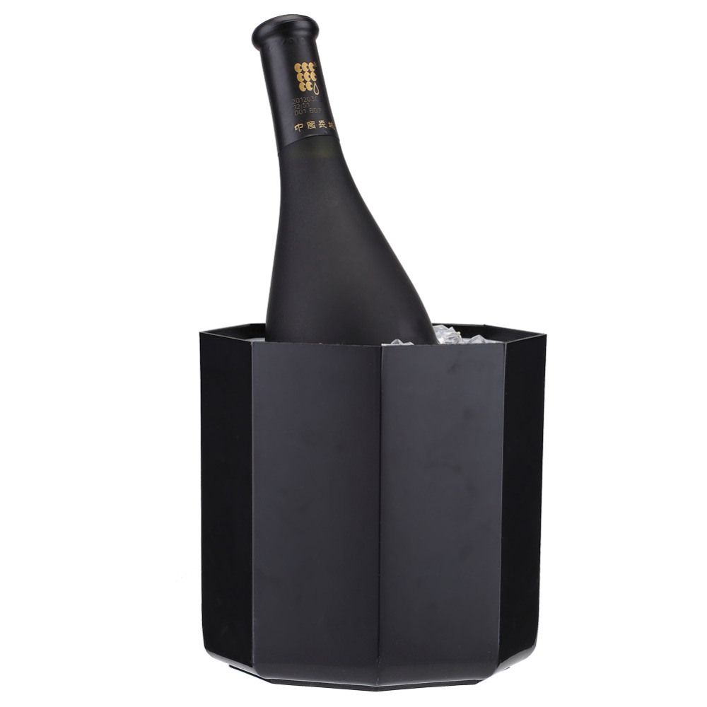 Smad 2Qt Practical Ice Bucket Octagon Design Wine Cooler Bar Party Chiller Portable Mini Dualrable Champagne Ice Can Keeper <br><br>Aliexpress