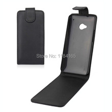 Fashion Vertical Flip Luxury PU Leather Case for HTC One M7/HTC One Dual Sim Soft Cover
