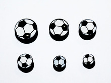 free shipping jewelry lot piercing ear internally thread soccer logo picture ear plugs mix size lots fashion body jewelrys(China)