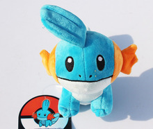 "6""15cm Mudkip Plush Toys With Tag Stuffed Doll With Tag"