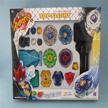 New Arrival Sale Beyblade Metal Fusion 4D Launcher Set Spinning Top Toy System LOOSE Battle Top Masters Kits J741
