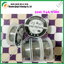 Newest Stainless steel 316L wire for Electronic cigarettes  atomizer coils 20ga 10m/roll free shipping