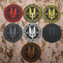 UK Special Air Service S.A.S WHO DARES WINS Tactics Morale 3D PVC patch Black Red Green Grey Tan Luminous