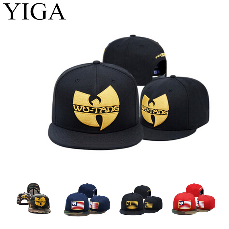 YIGA 2017 New Fashion Camo Baseball cap Wu Tang Snapback hats for men women hip hop caps(China)